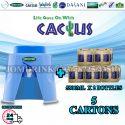 SPRITZER DISPENSER + PACKAGE OF 5 CARTON MINERAL WATER CACTUS 5.5L x 2 BOTTLES