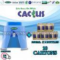 SPRITZER DISPENSER + PACKAGE OF 10 CARTON MINERAL WATER CACTUS 9.5L x 2 BOTTLES